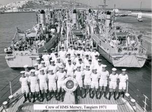 HMS MERSEY , Tangiers